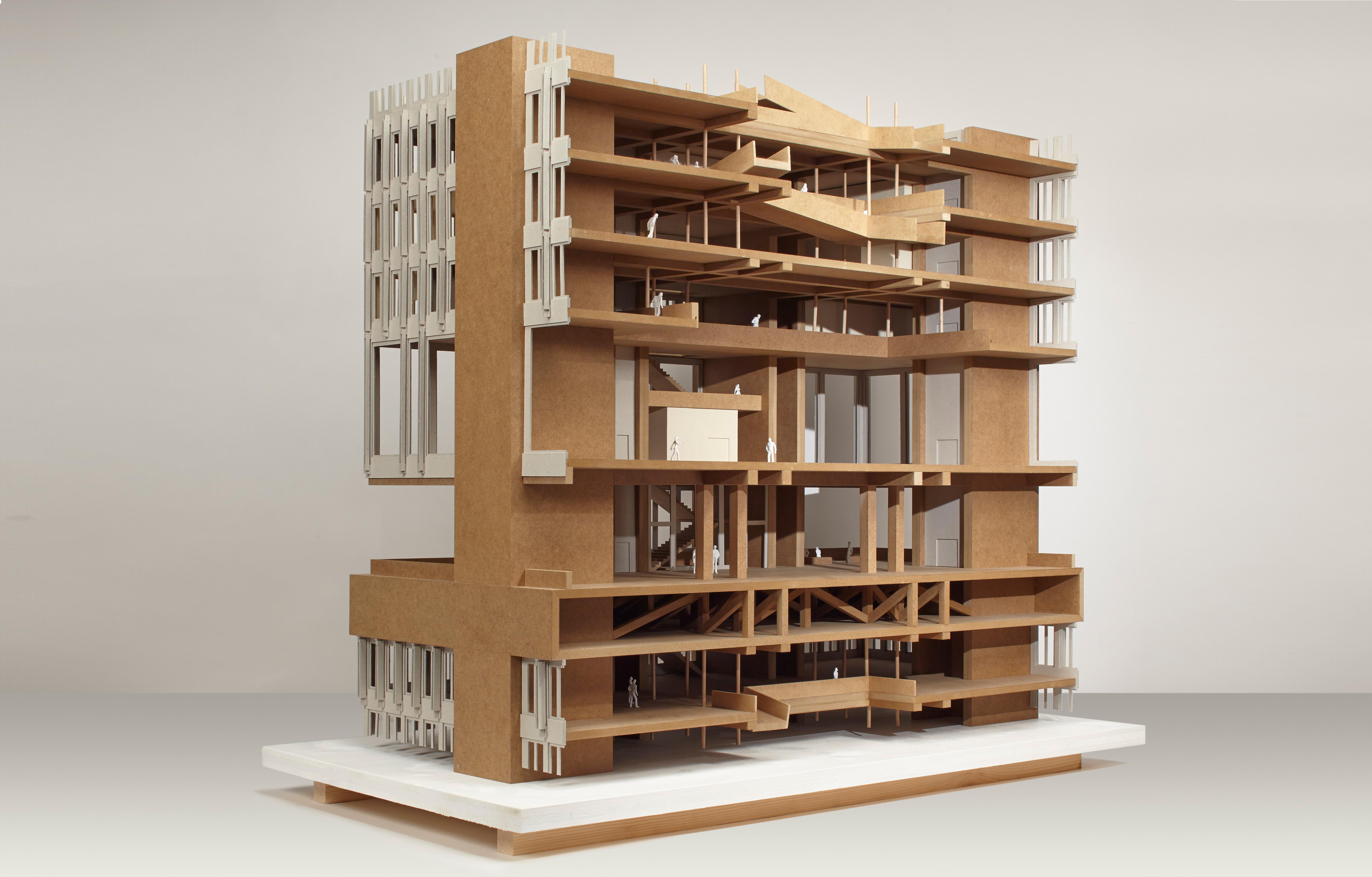 Projektionen ausstellung der diplomarbeiten architektur for Master architektur