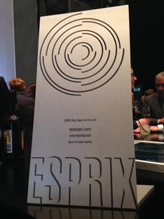 ESPRIX Swiss Award for Excellence 2016