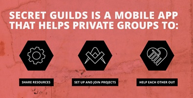 Helen Jampen: «Secret Guilds – Connect, Collaborate and Share Resources with People you Trust»