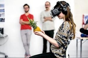 Virtual Reality Workshop with BeAnotherLab from Barcelona