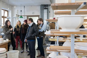 Product design study trip to Munich 2015 – visiting the porcelain manufacture Nymphenburg