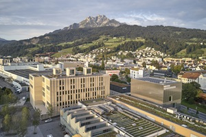 In Kriens, the various study programmes of the Lucerne School of Music have been united under one roof since autumn 2020.