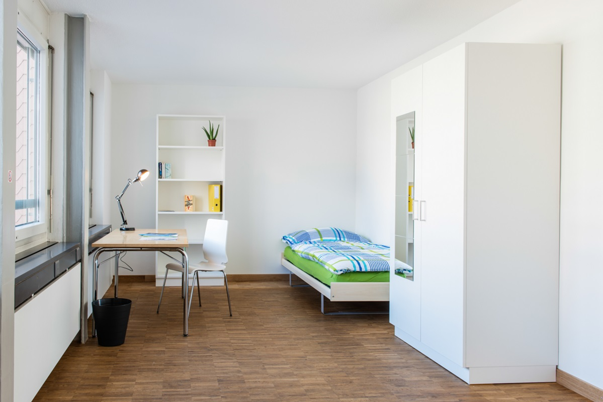 Accommodation lucerne university of applied sciences and for Room design zug