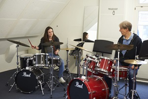 Drums lessons with Dave Doran