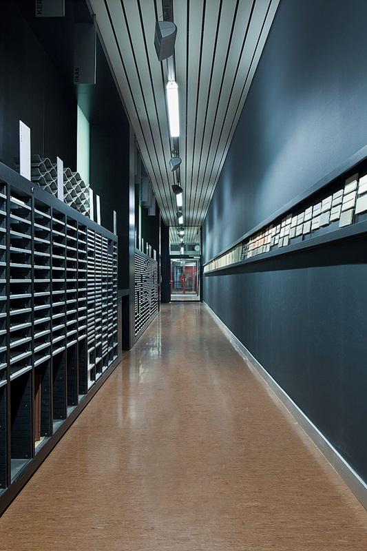 Materialbibliothek hochschule luzern for Fh studium architektur