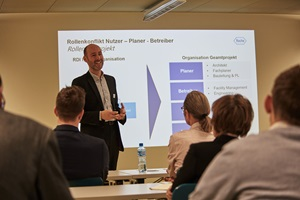 Andreas Dannmeyer, Head of Facility Management & Real Estate, Roche Diagnostics International AG