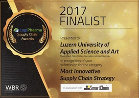 LogiPharma Supply Chain Awards 2017 in Stuttgart