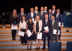 Diplomfeier Master Banking and Finance