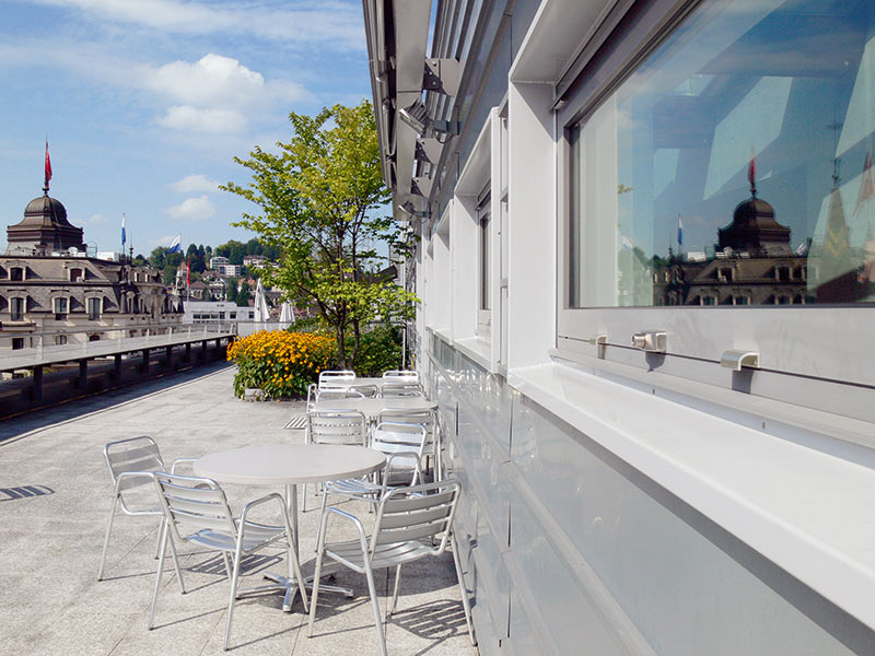 Oase Terrassen mensa oase | wirtschaft | hochschule luzern