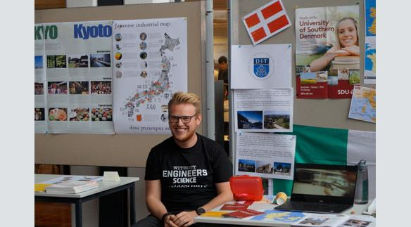Emil Bush, student form the University of Southern Denmark, shares information about Dublin as well.