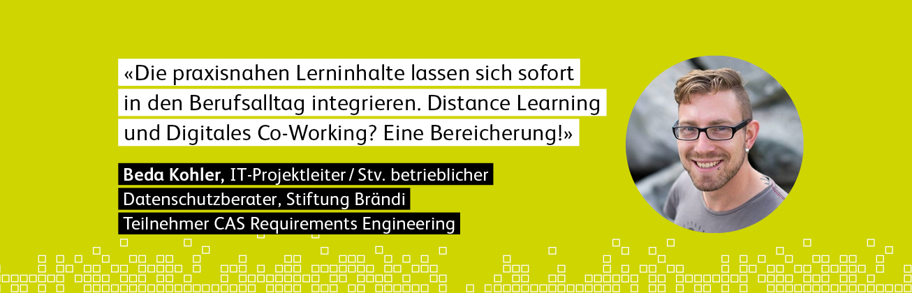 Teilnehmer im CAS Requirements Engineering