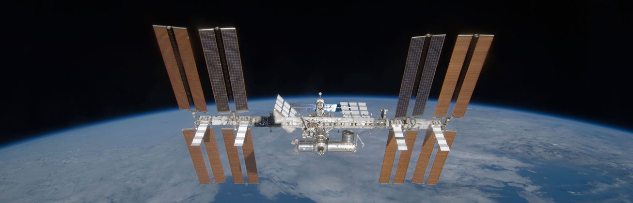 International Space Station ISS in Space
