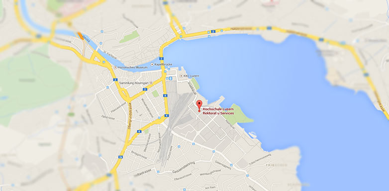 How To Find Us Lucerne University Of Applied Sciences And Arts
