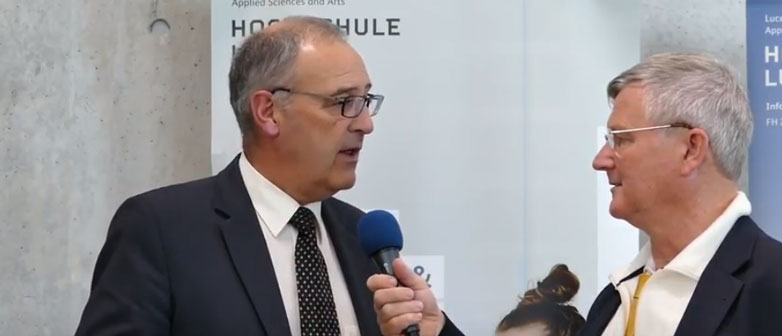 Interview mit Bundesrat Guy Parmelin zum neuen Studiengang in Information & Cyber Security