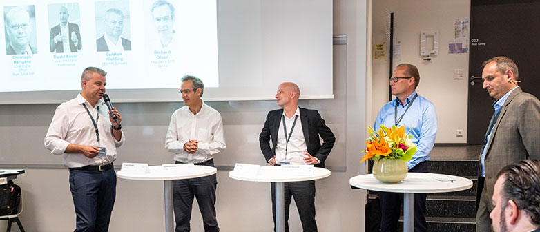 Podiumsdiskussion an der Swiss Digital Finance Conference 2018