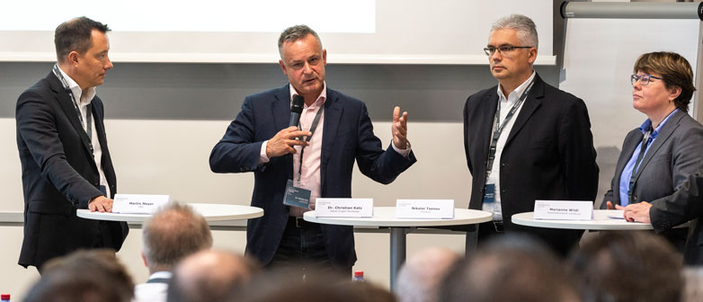 Podiumsdiskussion Swiss Digital Finance Conference 2019
