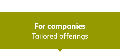 Tailored offerings for companies