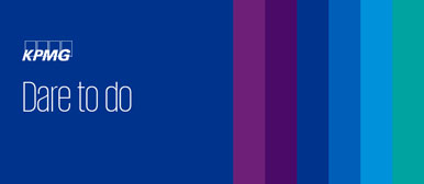 Logo KPMG Kampagne 2020 Dare to do