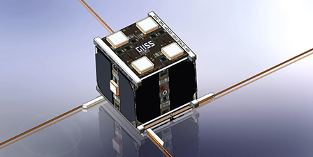 Der Mini-Satellit CubeETH