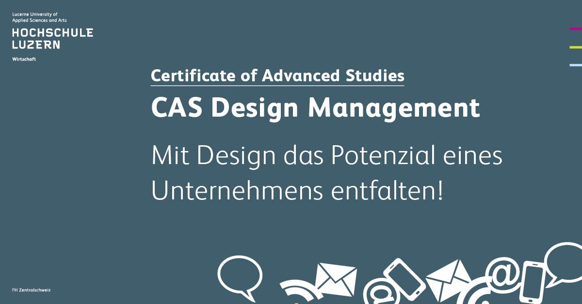 Cas design management hochschule luzern for Weiterbildung design