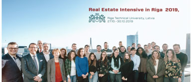 Real Estate Intensive in Riga in cooperation with RTU and Lanida