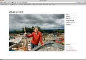 Ursula Stalder – Website