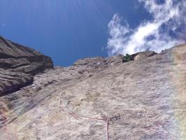 Climing perfect Furka-Granite