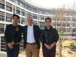 Tongji University Shanghai visit Incomings 2017