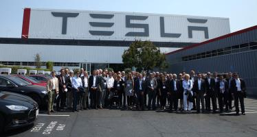 TESLA factory visit in Fremont