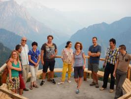 DLDP Team Excursion to the Albanian Alps, © PFS
