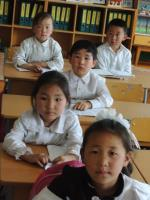 School Children at Zavkhan - Western Mongolia, © PFS