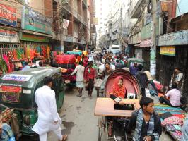 Busy Old Dhaka, © PFS
